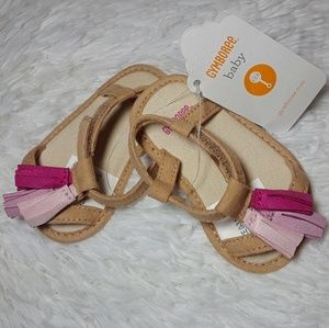 Gymboree Baby Tassel Sandals